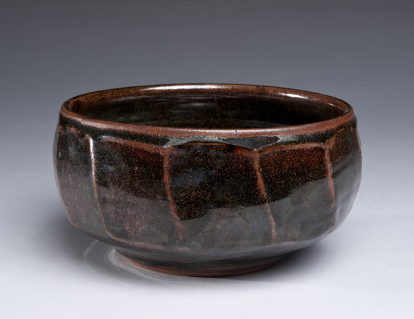 , 'Tenmoku Faceted Bowl, Large,' 2016, LACOSTE / KEANE GALLERY