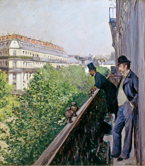 , 'Balcony, Boulevard Haussmann,' 1880, Museo Thyssen-Bornemisza