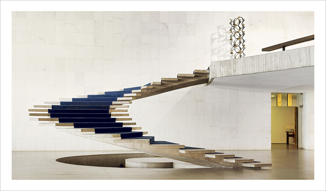 , 'Brasilia | The Itamaraty Palace - Foreign Relations Ministry, spiral stairs,' 2012, The Ravestijn Gallery