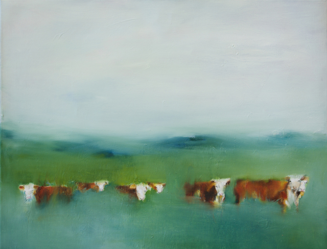 , '7 Hiding Cows,' 2016, Abend Gallery