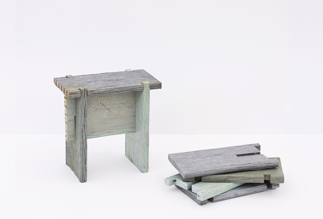 , 'Nailless benches,' 2009, Helga Maria Klosterfelde Edition