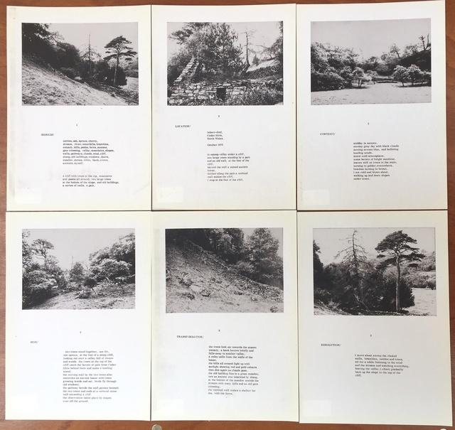 , 'Signals/Valley Extended working,' 1975, Richard Saltoun