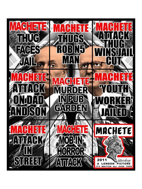, 'Machete,' 2011, Alfonso Artiaco