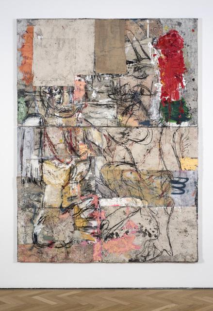 , 'Zumbi and Taurus broken (orange red pink),' 2017, Vigo Gallery