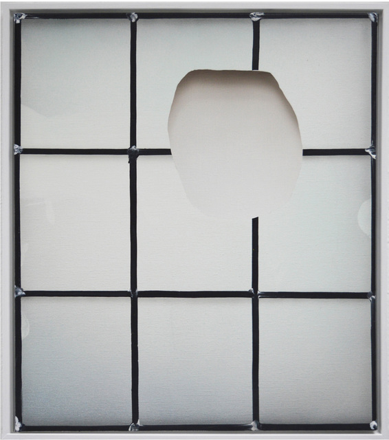 , 'Stained Cut,' 2014, Galerie Michael Sturm