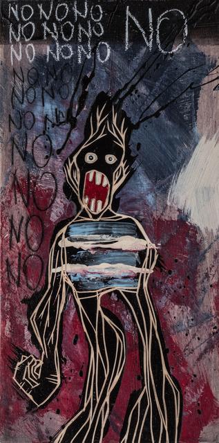 , 'NO NO NO NO NO NO NO NO NO NO NO | The Freedom Paintings #09 ,' 2018, heliumcowboy