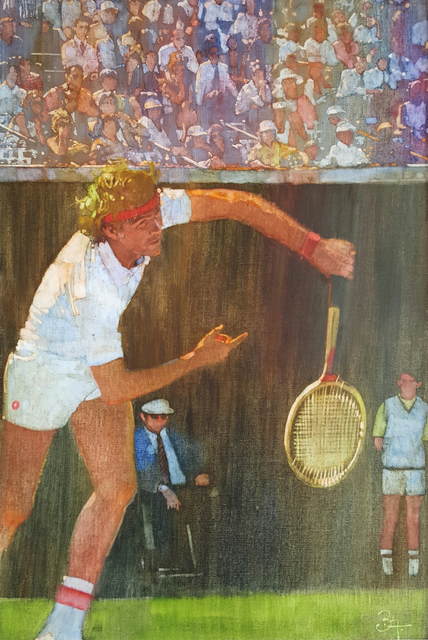 , 'Tennis Player,  Jimmy Connors ,' ca. 1980, Robert Funk Fine Art
