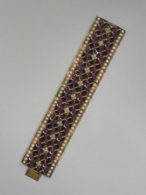 Carlo Giuliano, 'Bracelet', ca. 1890, Cooper Hewitt, Smithsonian Design Museum