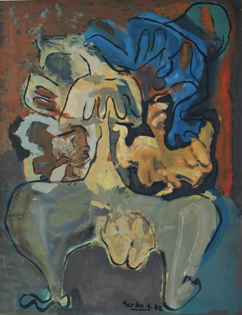 , 'Untitled (1962.2),' 1962, Galerie Nathalie Obadia