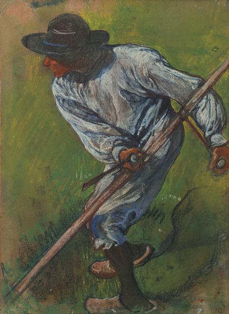 , 'Mower,' ca. 1898, Mireille Mosler Ltd.