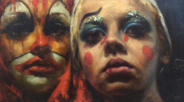 , 'Clowns,' 2017, Flower Pepper Gallery