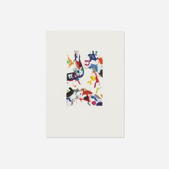 Sam Francis, 'Untitled (SFE-057)', 1990, Wright