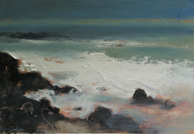 , 'Summer sea,' 2017, Castlegate House Gallery