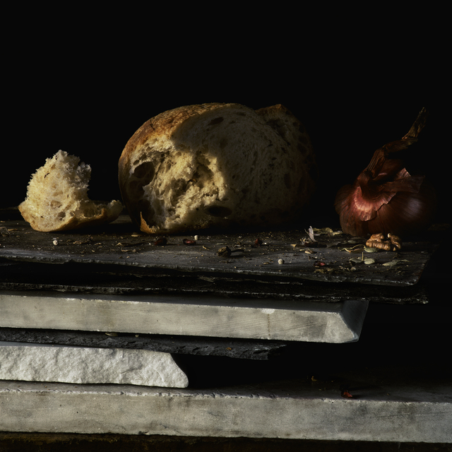 , 'Still Life with Bread and Red Onion	,' , Pucker Gallery