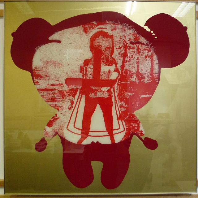 Oliver Dorfer, 'toyo (golden cut #1)', 2014, Galerie Ernst Hilger