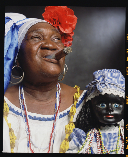 ", 'Juana Rios Rios, ""Juana de Cubana,"" Fortune Teller,' 2012, Galerie Nathalie Obadia"