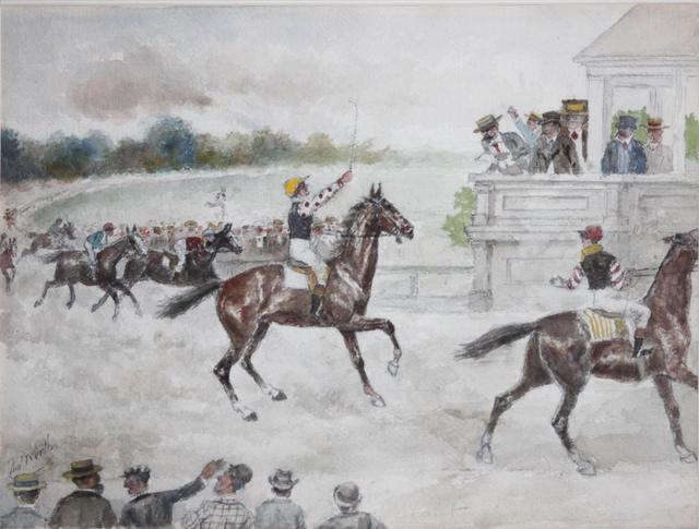 Thomas Worth, 'Jockey', 1880-1910, EastCoastArt