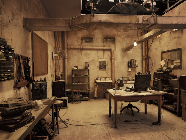 , 'Secret Room, Tangier Hotel, from »On the Set of James Bond's Spectre«,' 2015, CAMERA WORK