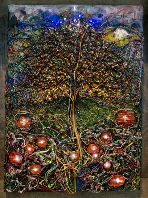 , 'The Tree of Life & Death (Loberg),' 2005-2010, Ronald Feldman Fine Arts