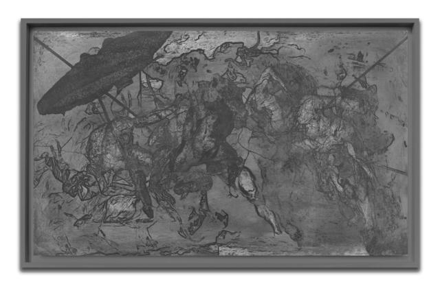 Hugo Wilson, 'Untitled', 2018, Other, Acid drawing on zinc, Pratt Contemporary