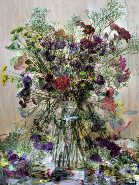 , 'Flowers - For Lisa #2,' 2015, Huxley-Parlour