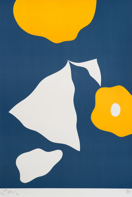 , 'Constellation with five forms,' 1956, Galerie Angle