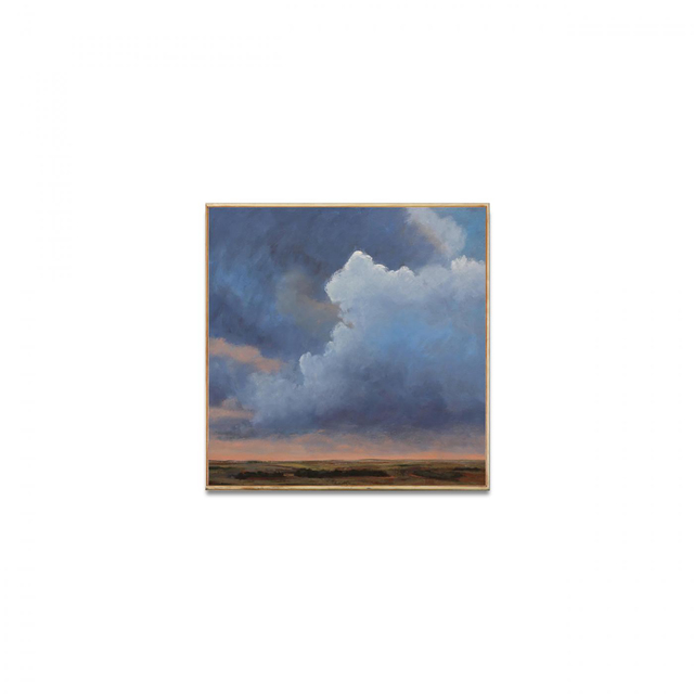 , 'Clouds at Sunset,' , Exhibit by Aberson