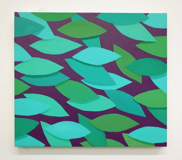 , 'Green and Purple,' 2019, Reynolds Gallery