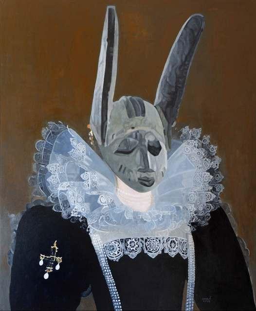Wole Lagunju, 'Metaphysical Other', 2014, Ed Cross Fine Art