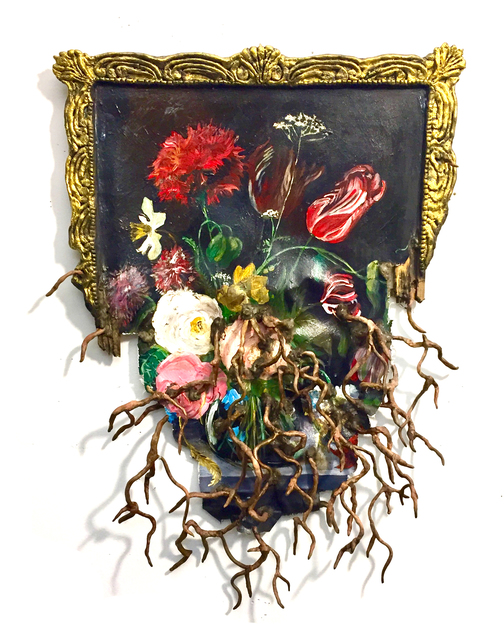 Valerie Hegarty, 'Dutch Flower with Roots', 2018, Malin Gallery