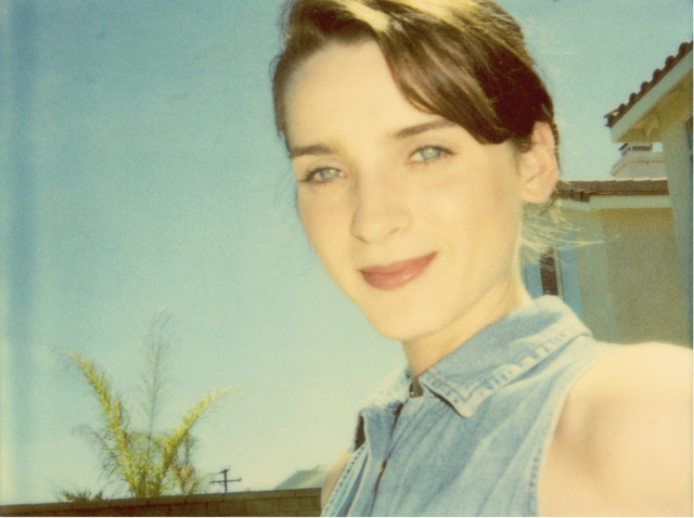 Stefanie Schneider, 'April Blue Eyes (Suburbia)', 2004, Photography, Digital C-Print based on a Polaroid, Instantdreams