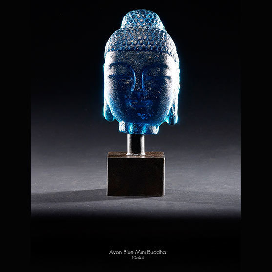 , 'Avon Blue Mini Buddha,' 2018, Raven Gallery