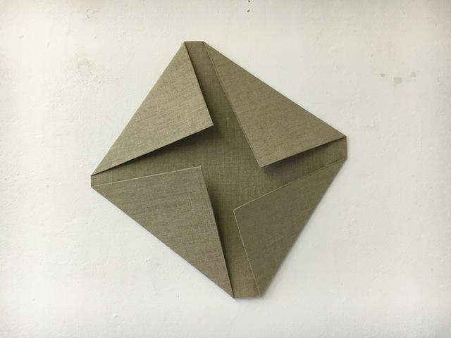 , 'Folded Flat Linen 02,' 2016, Rauminhalt