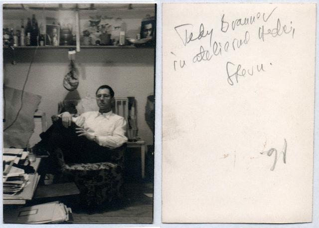 , 'Theodore Brauner in Hedda Stern Studio from Bucharest,' ca. 1940, Nasui Collection & Gallery