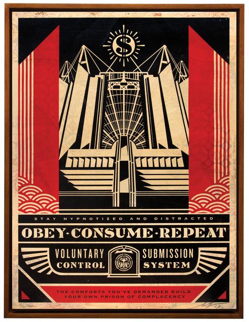 , 'Church of Consumption,' 2017, Treason Gallery