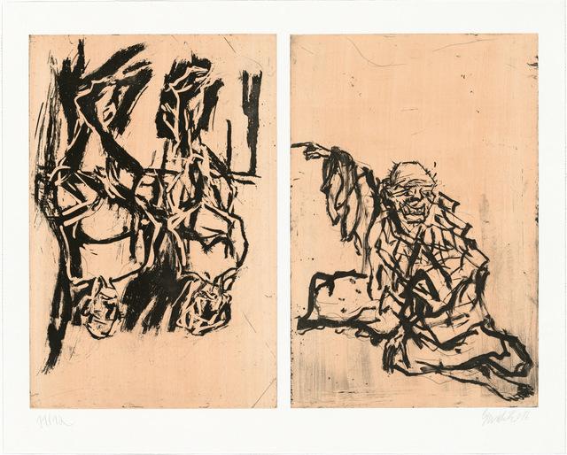 , 'Hokusai und ein Paar,' 2017, Henze & Ketterer