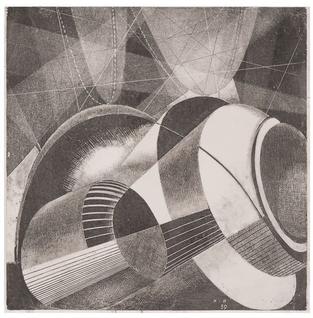 , 'Heliographic composition XLIII,' 1939, Olszewski Gallery