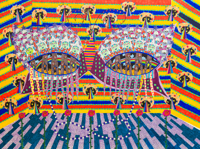 , 'Carnival Alien Mask,' 2016, Coagula Curatorial