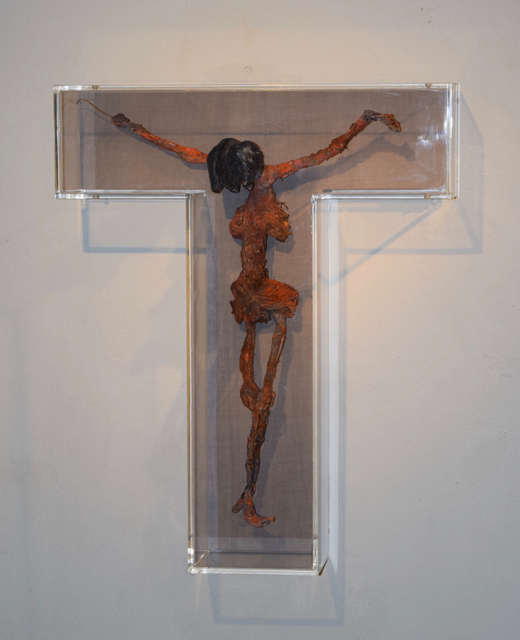, 'Black Jesus,' 2016, Sardac