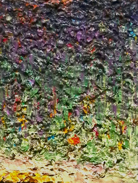 , 'Green over Lavender,' 2018, Seager Gray Gallery