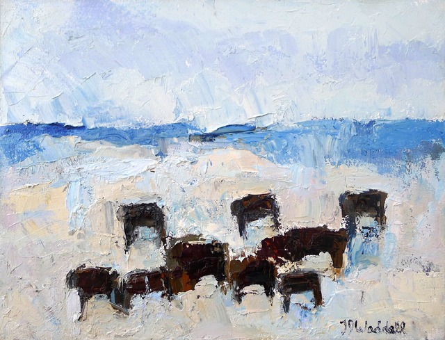 , 'Camas Prairie Reds #6,' , Gail Severn Gallery