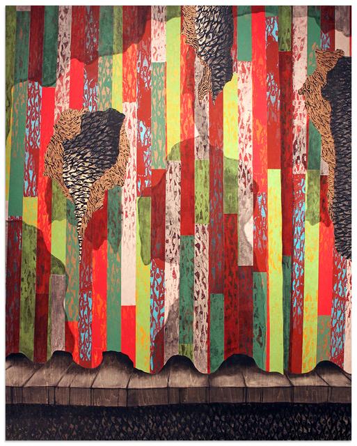 , 'Ayida's Curtain / Rido Ayida a,' 2018, Anna Zorina Gallery