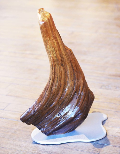 Adam Schwoeppe, 'Original Wood Art 'The Bend' Contemporary Tabletop Sculpture, Wooden Lodge Decor', 2017, Fringe Gallery