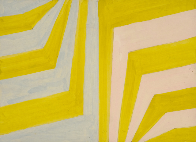 , 'Dog Leg stripes,' 1962, Flowers
