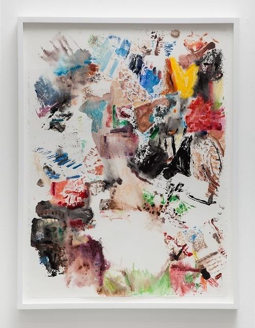 John Williams, 'Untitled', 2014, Print, Monotype on paper, The Kitchen