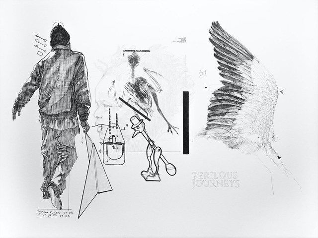 , 'Le Battement des Ailes No.XIII,' 2017, Selma Feriani Gallery