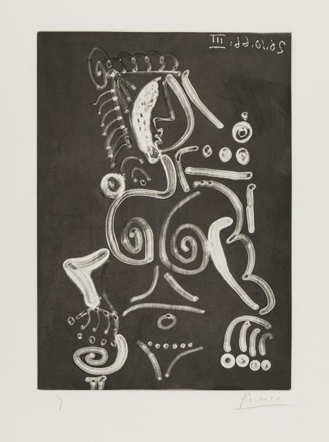 Pablo Picasso, 'Femme nue au Fauteuil (Baer 1415Bb2, Bloch 1393)', 1966, Print, Aquatint on wove paper, Forum Auctions