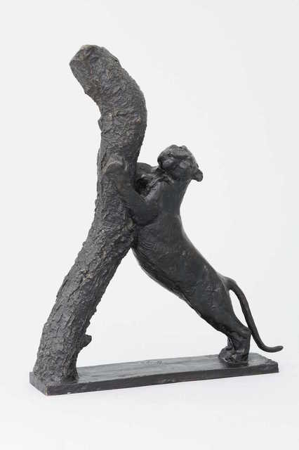 , 'Panther Playing its Claws,' 1950, Galerie Dumonteil