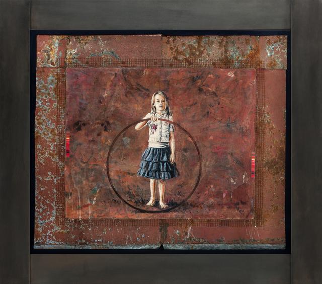 , 'Un cercle,' 2017, Galerie de Bellefeuille
