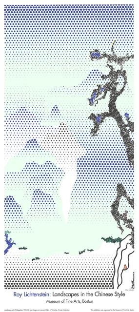Roy Lichtenstein, 'Landscape with Philosopher', 1995, Print, Silkscreen, ArtWise